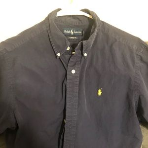 POLO short sleeve button down shirt.